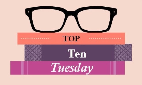 Top ten Tuesday Over-books