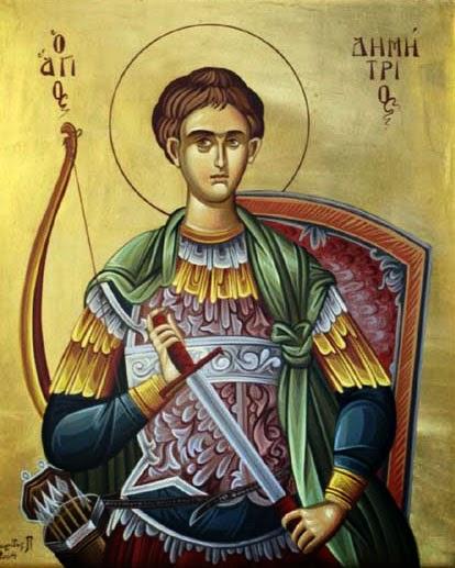 Sfantul Mare Mucenic Dimitrie, ocrotitorul Filialei ASCOR din Bacau