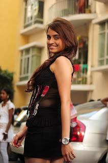 Sheena Shahabadi Spicy Black Deep Neck Sleeveless Top Mini Skirt Pics Sizzling Spicy Sheena