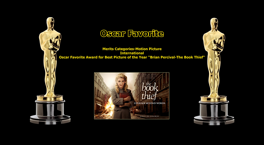 oscar favorite best picture of the year international award the book thief