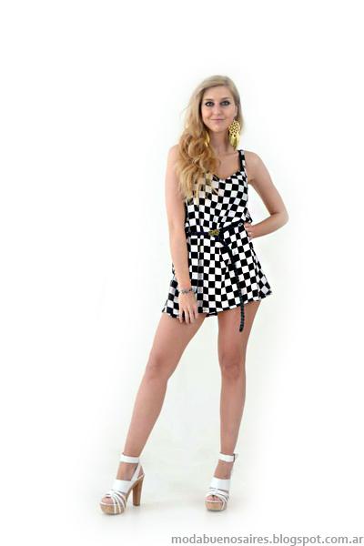 Caterina Stanic primavera verano 2014 Colección, Indumentaria femenina de Moda.