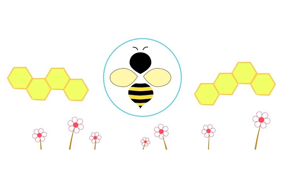 BEE IN BUBBLE