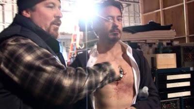 Bagaimana Lampu Pusat Tenaga Di Dada Iron Man Dibuat