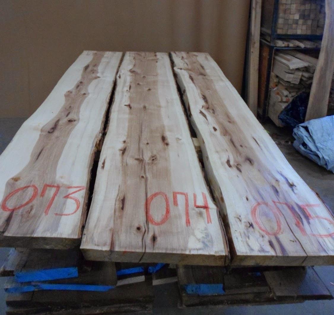 menuiserie st m thode slab d 39 hickory live edge tranche d 39 arbre d 39 hichory vendre. Black Bedroom Furniture Sets. Home Design Ideas