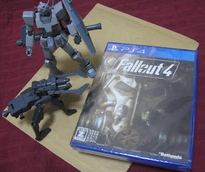 PS4版フォールアウト4買ってきたよ!!!!!!!!