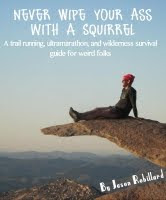 Squirrel Wipe Trail and Ultra Book!