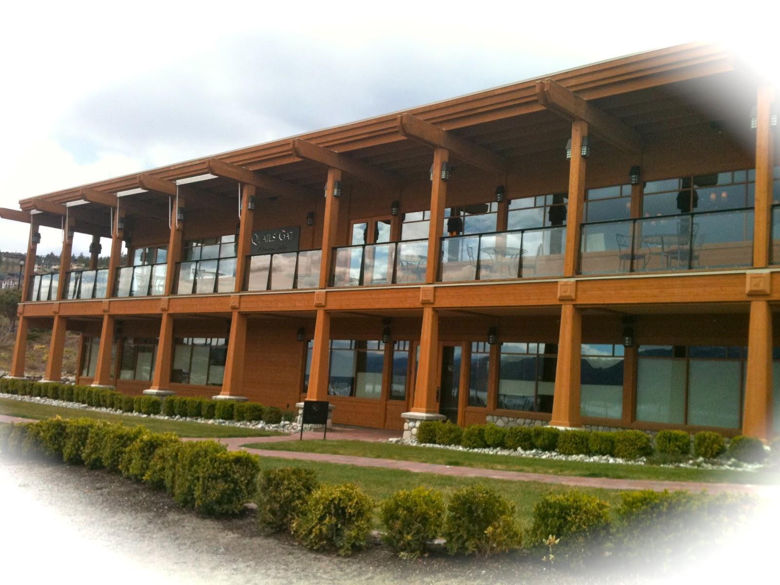 Quails\' Gate Estate Winery & Old Vines Restaurant | spaswinefood