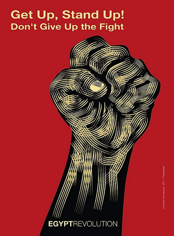 Powerful Revolution Posters By Michael Thompson