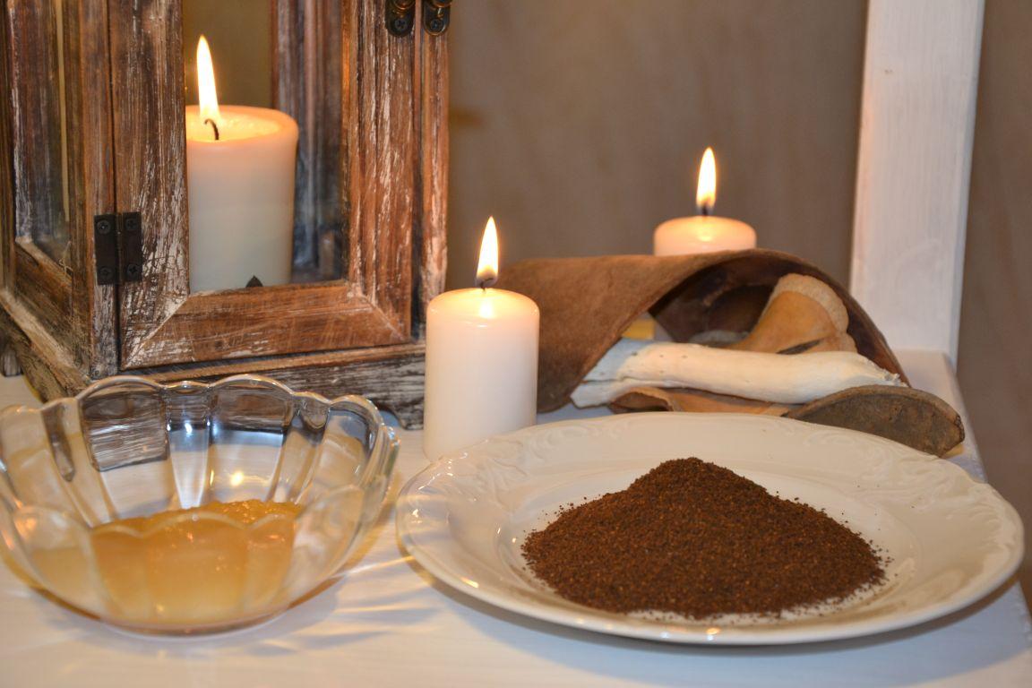 Domowe SPA - peeling miodowo-kawowy
