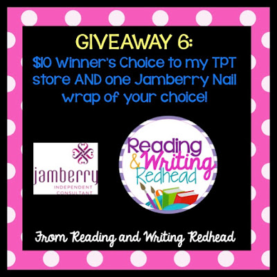 Giveaway 6: Reading and Writing Redhead