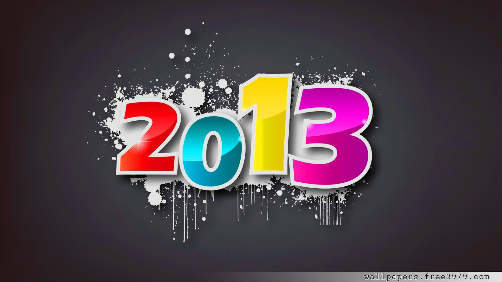 New Year wallpapers CMYK