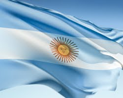 Argentine National Flag