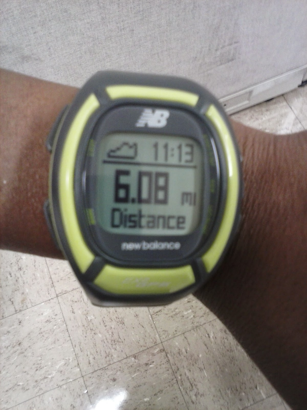 New Balance NX950 GPS Runner Watch