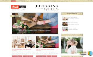 Blogging Template By SoraTemplates Download