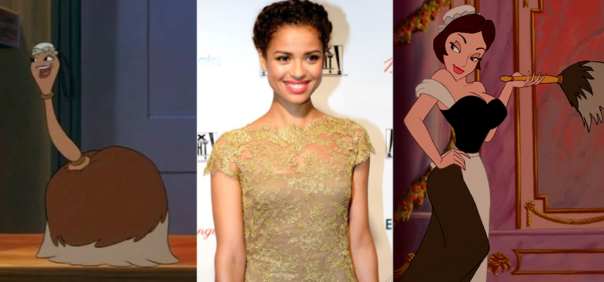Disneys Live Action Beauty And The Beast Casting Update Gugu Mbatha Raw Joins As Plumette