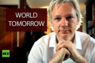 Julian Assange dijadual muncul dalam program bual bicara berjudul 'The World Tomorrow' minggu depan.