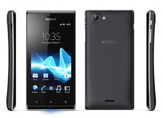 Harga handphone Sony Xperia J ST26i
