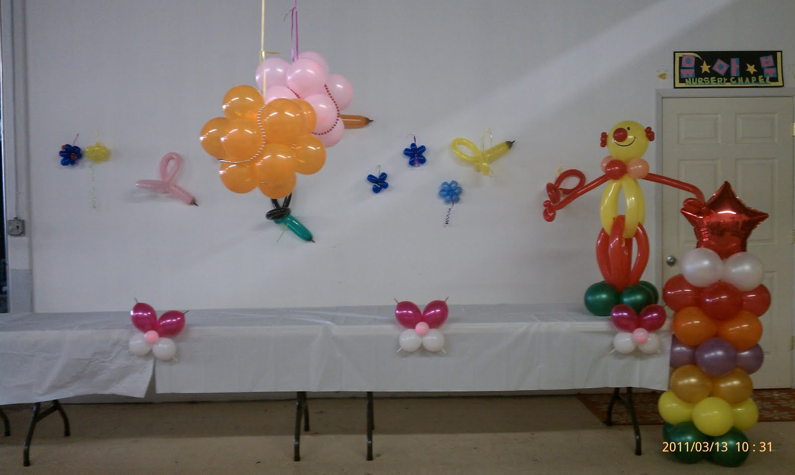 Balloon Park: balloon decoration