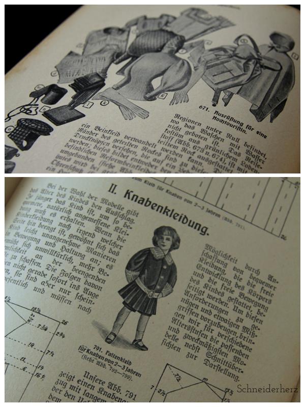 Ich kann schneidern 1908 Detail 2