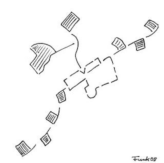 Zeichnung Bild / painting picture : Fahnen / flags