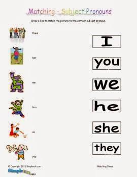 159 FREE Personal Pronouns Worksheets