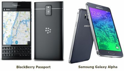 Samsung Galaxy Alpha VS BlackBerry Passport, Unggul Mana?