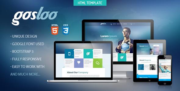 Gosloo - Themeforest Responsive Portfolio Template