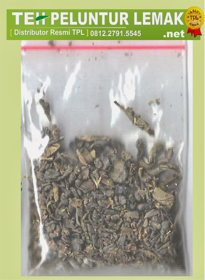 ciri teh peluntur lemak asli