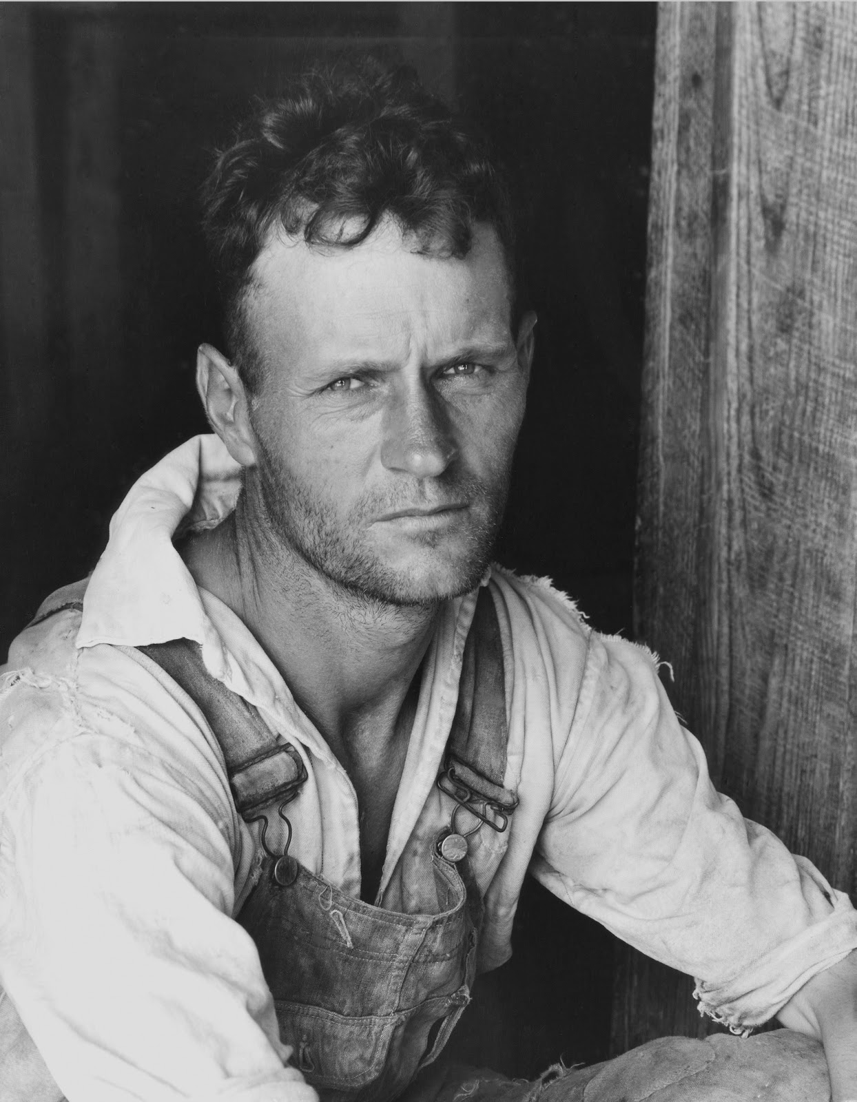 starr review documentary rhetoric more american photographs walker evans floyd burroughs cotton sharecropper