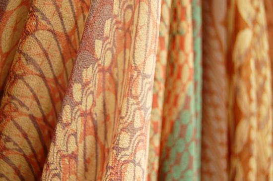 IKA BUTONI Drape Silk Chiffon Batik