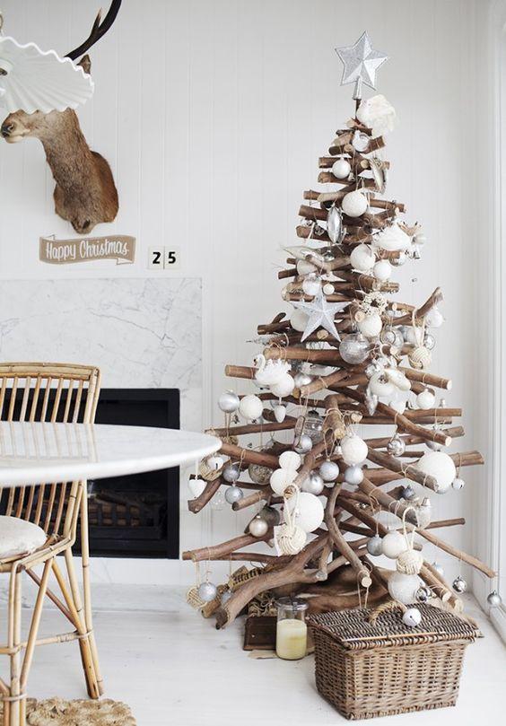 la navidad - Arbol De Navidad Casero