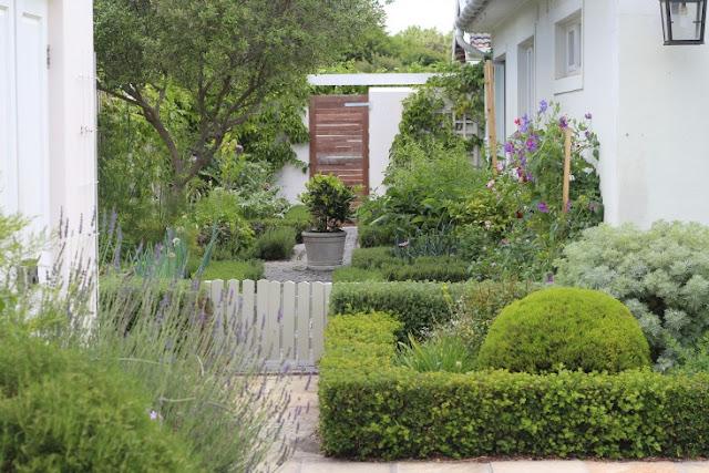 khu vườn xanh