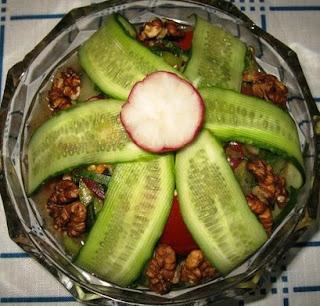 Салат овощной  Дачник