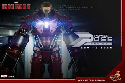 "Hot Toys 1/6 Scale Iron Man 3 - Mark XXXV ""Redsnapper"" Armor Power PoseFigure"