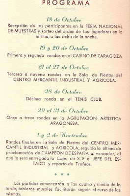 Boletín del XVIII Campeonato de España de Ajedrez (3)