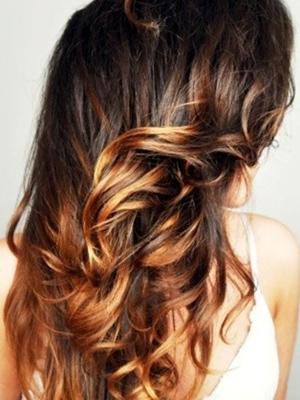 mechas californianas peinados