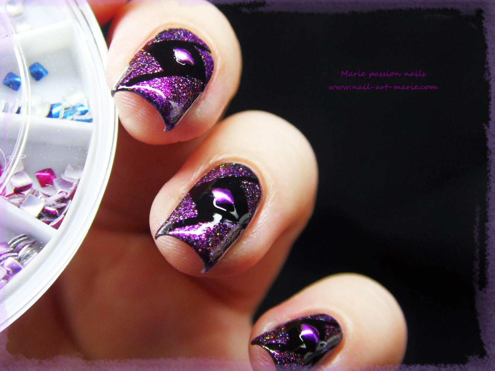 Nail Art Studs Géométrique5
