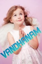 Vandanam - Cute angel kid photo