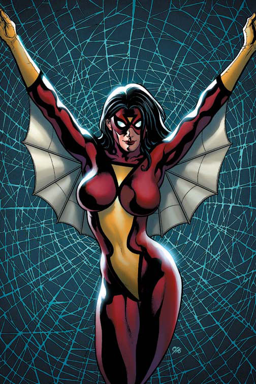 sexy spider-woman of marvel