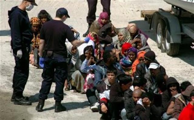 Συλλήψεις παράνομων μεταναστών στην Ηγουμενίτσα