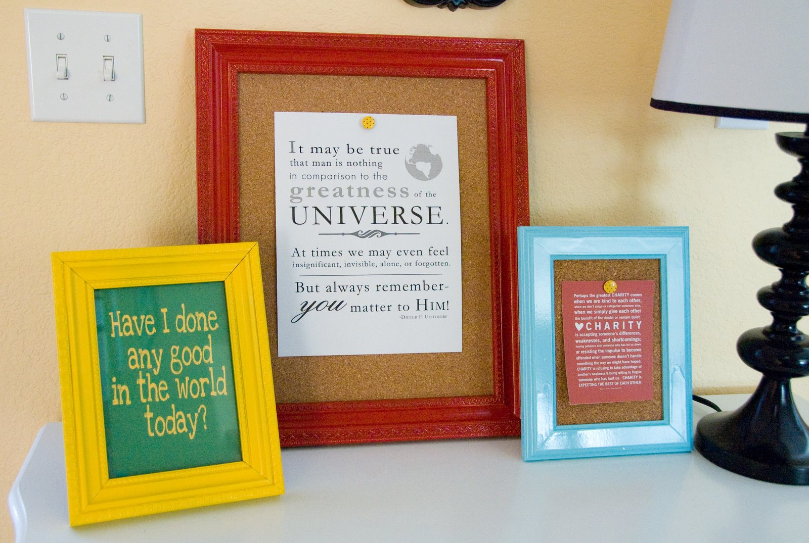 Jengerbread Creations: Quote Boards