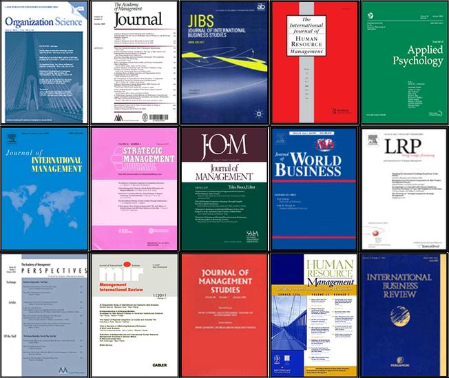 Most popular journals