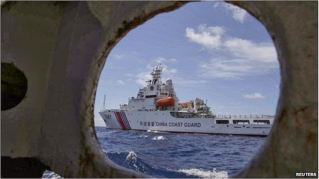 China-Philippines navy, China coast guard vs Philippines navy, Ayuning shoal