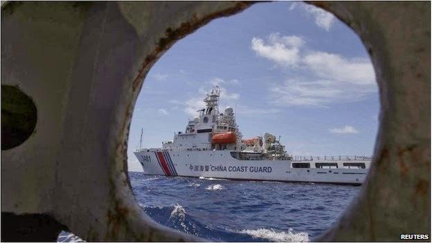 China-Philippines navy, China coast guard vs Philippines navy, Ayuning shoal