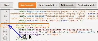 Cara membuat scroll pada blog archives menggunakan css