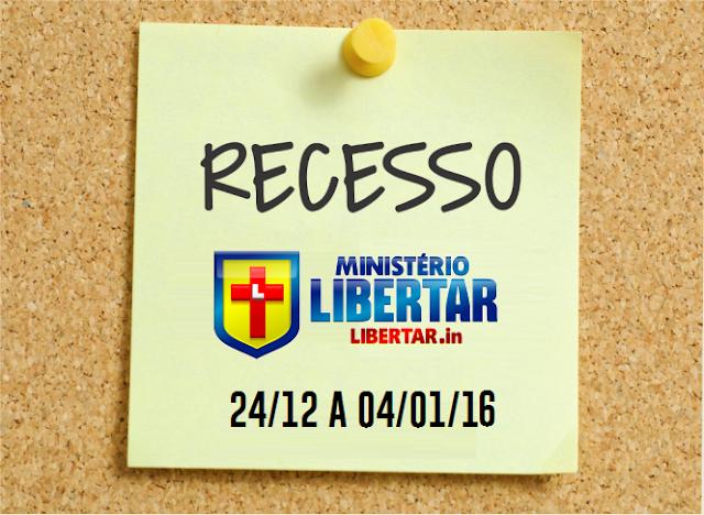 SITE LIBERTAR EM RECESSO... 2016 É LOGO ALI...