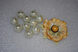Beads and Flower