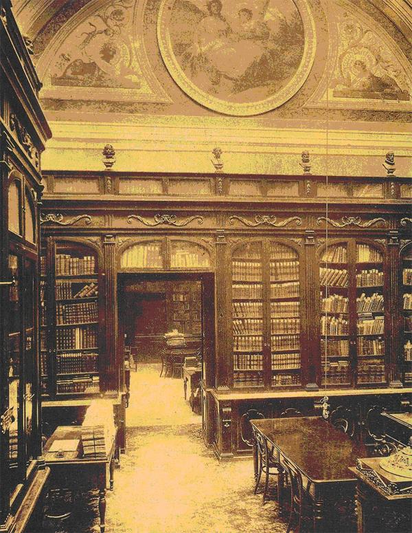 Manuelblas madrid tres exposiciones en la biblioteca nacional for Biblioteca iglesia madrid