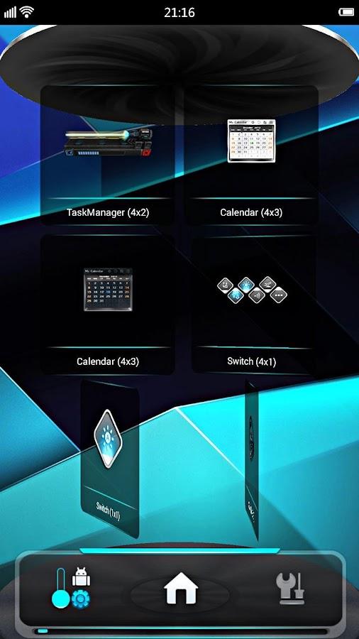 Next Launcher 3D v3.0 apk terbaru
