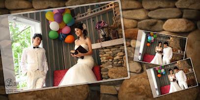 Không cần địa điểm chụp ảnh cưới cầu kỳ, cả 2 đều đẹp với những góc độ sáng tao của DLDUY
